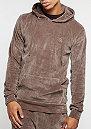 Hooded-Sweatshirt Velour mushroom