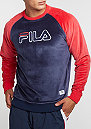Sweatshirt Serzo blue/red