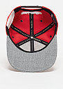 Snapback-Cap Greytist NBA Chicago Bulls red/grey