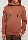 Hooded-Sweatshirt West Slim rust/rust