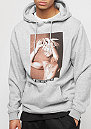 Hooded-Sweatshirt Only God Can Judge Me heather grey