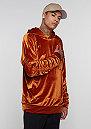 Hooded-Sweatshirt rust