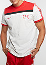 T-Shirt CLFN talc/scarlet
