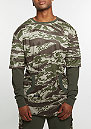 Sweatshirt CSBL Section Layer tiger camo/olive
