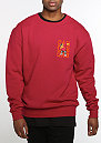 C&S WL Sweater Dabbin' Crew Crewneck red/orange/mc