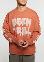 Sweatshirt Oversized Crew rust
