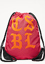 Turnbeutel Worldwide Gymbag red/orange