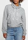 Sweatshirt High Neck Crew grey