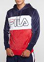 Hooded-Sweatshirt Baggio blue/red