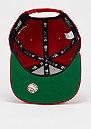 Snapback-Cap Vintage Wash MLB New York Yankees scarlet/optic white