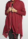 Strickjacke Terry Cardigan burgundy