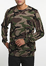 Sweatshirt Sayler camo heather