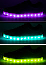 Schuh LED Pop silver