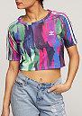 T-Shirt Camo Crop multicolor