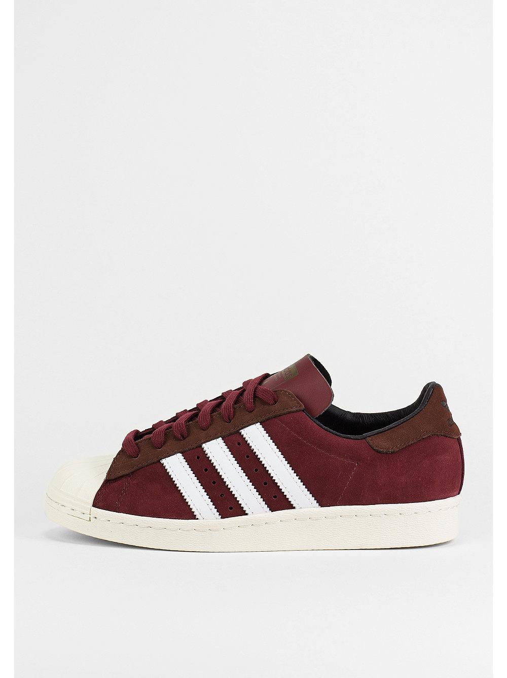 Adidas Superstar Dunkelrot