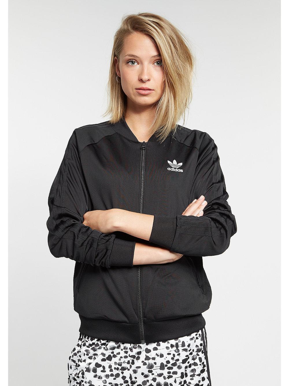 adidas Trainingsjacke Inked Supergirl black schwarz M,XS,S