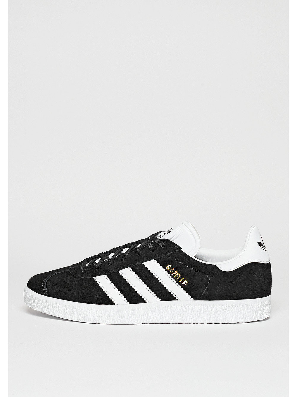 adidas Gazelle core black-white-gold metallic