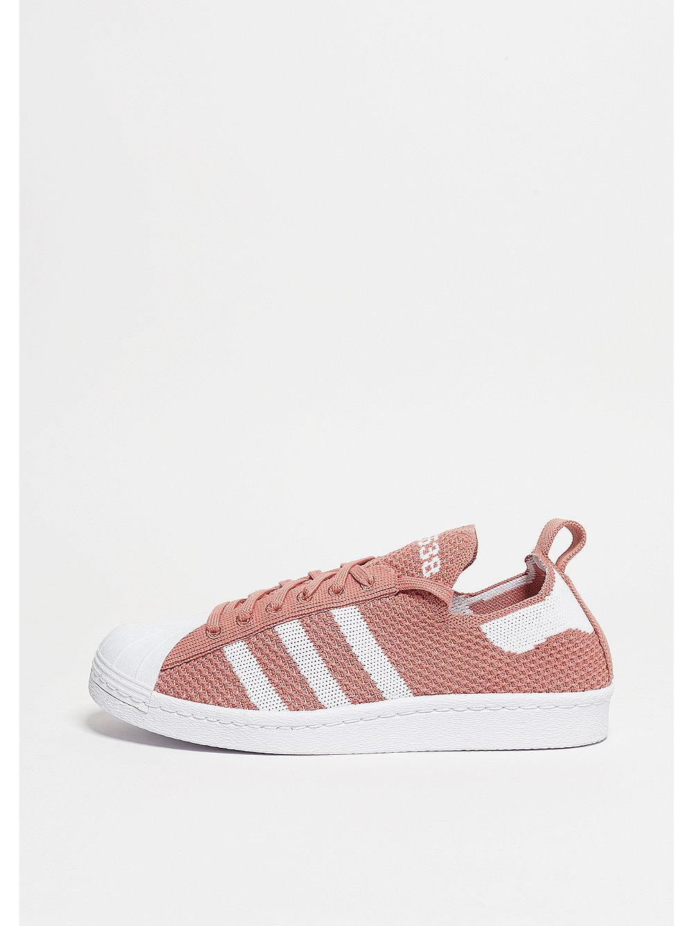 Adidas Superstar damessneaker roze, wit en rood