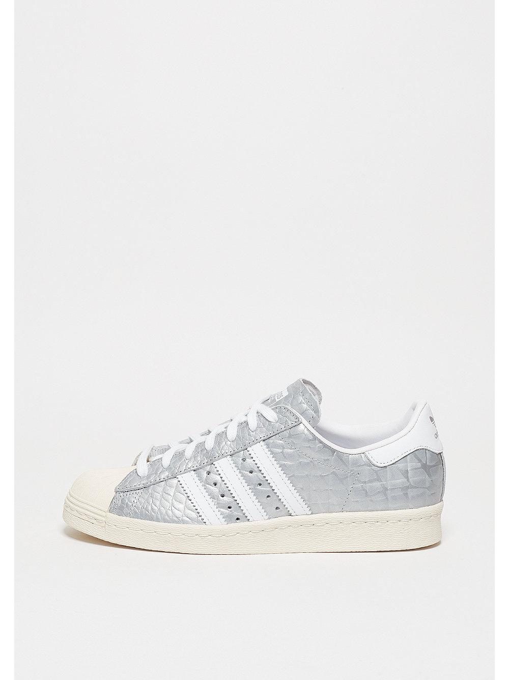 Adidas Superstar damessneaker zilver, wit en grijs