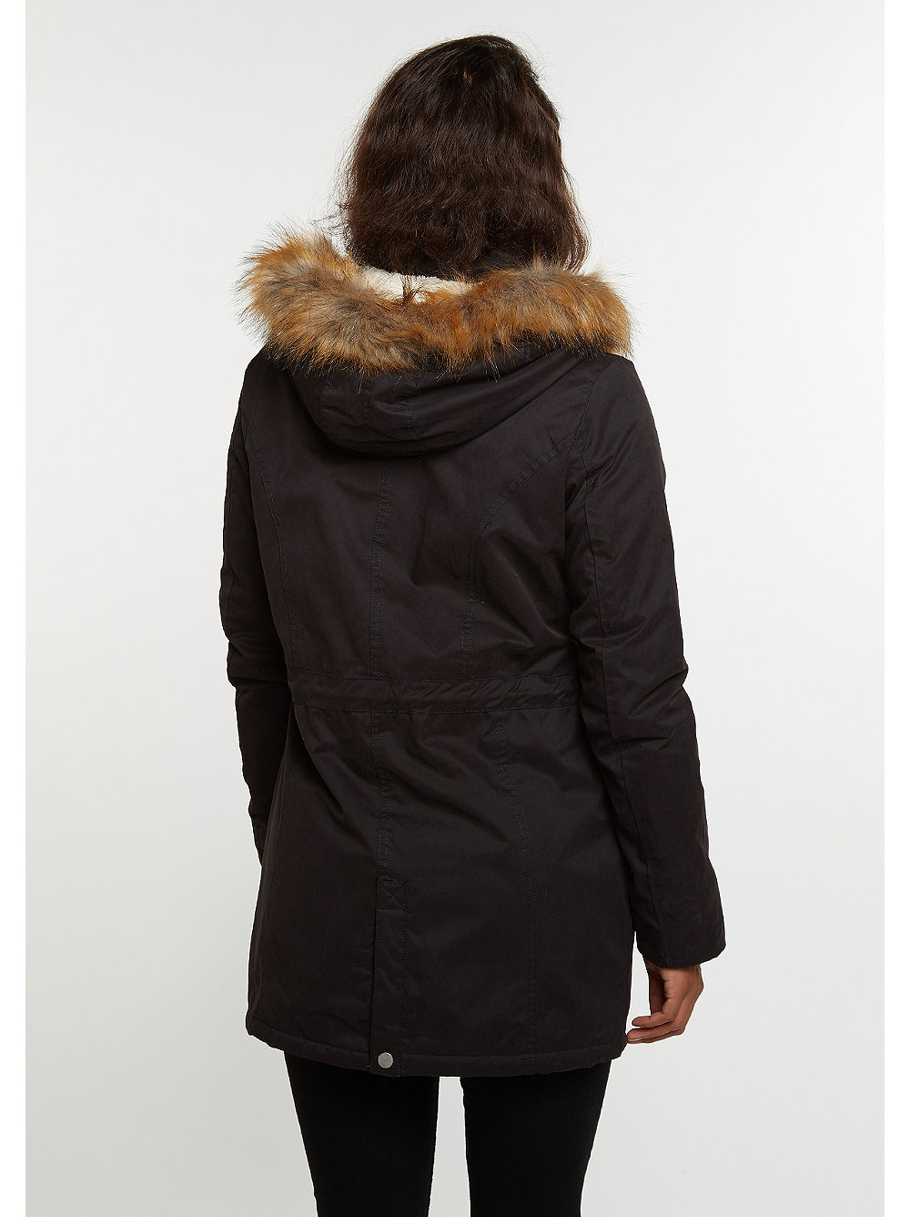 urban classics winterjacke sherpa lined peached parka. Black Bedroom Furniture Sets. Home Design Ideas