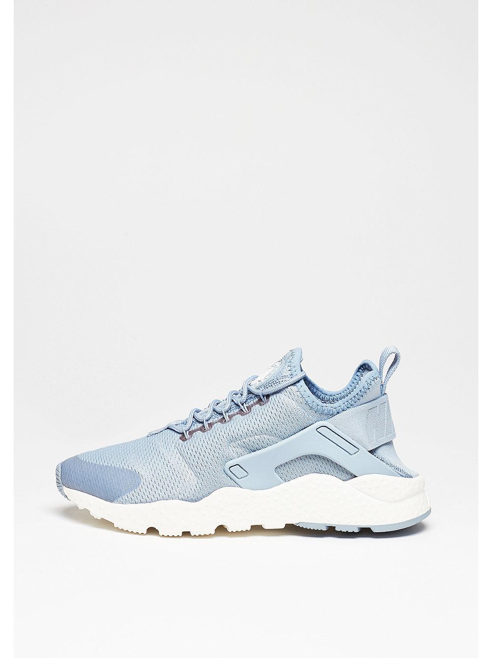 Nike Air Huarache Run damessneaker blauw, grijs en wit