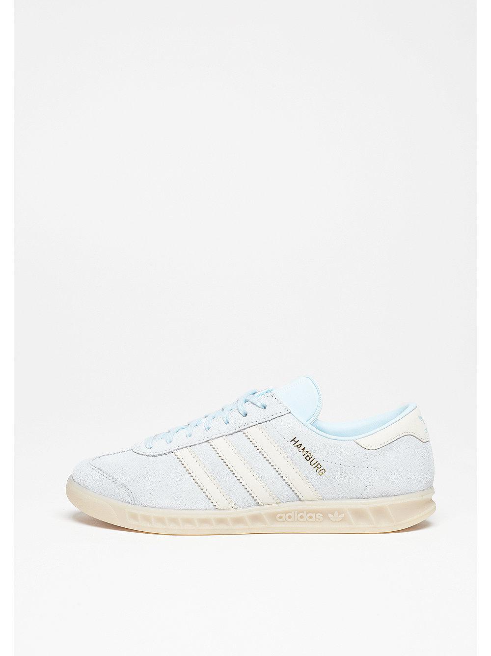adidas Hamburg ice blue-off white-off white