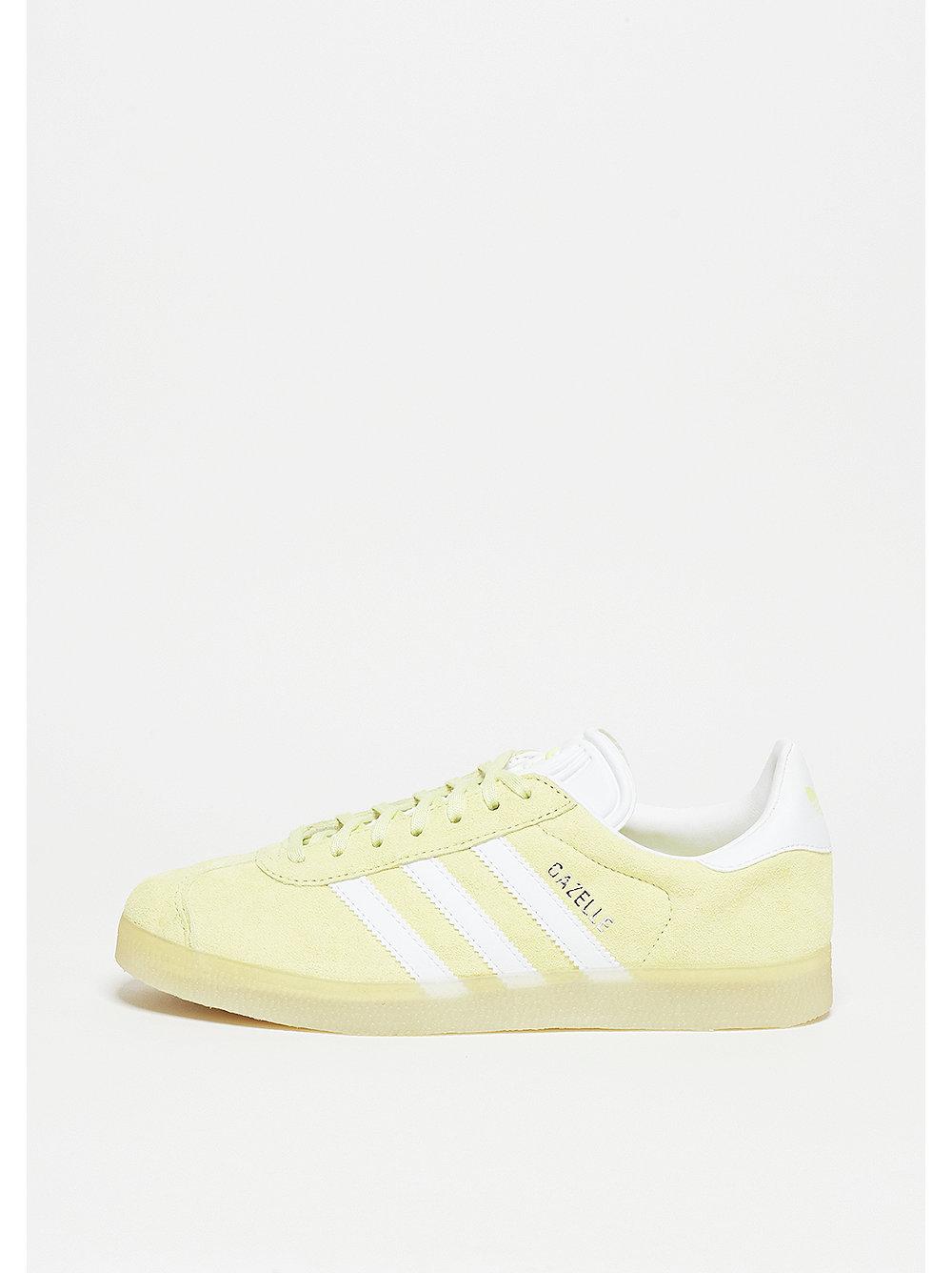 adidas Gazelle ice yellow-white-metallic silver