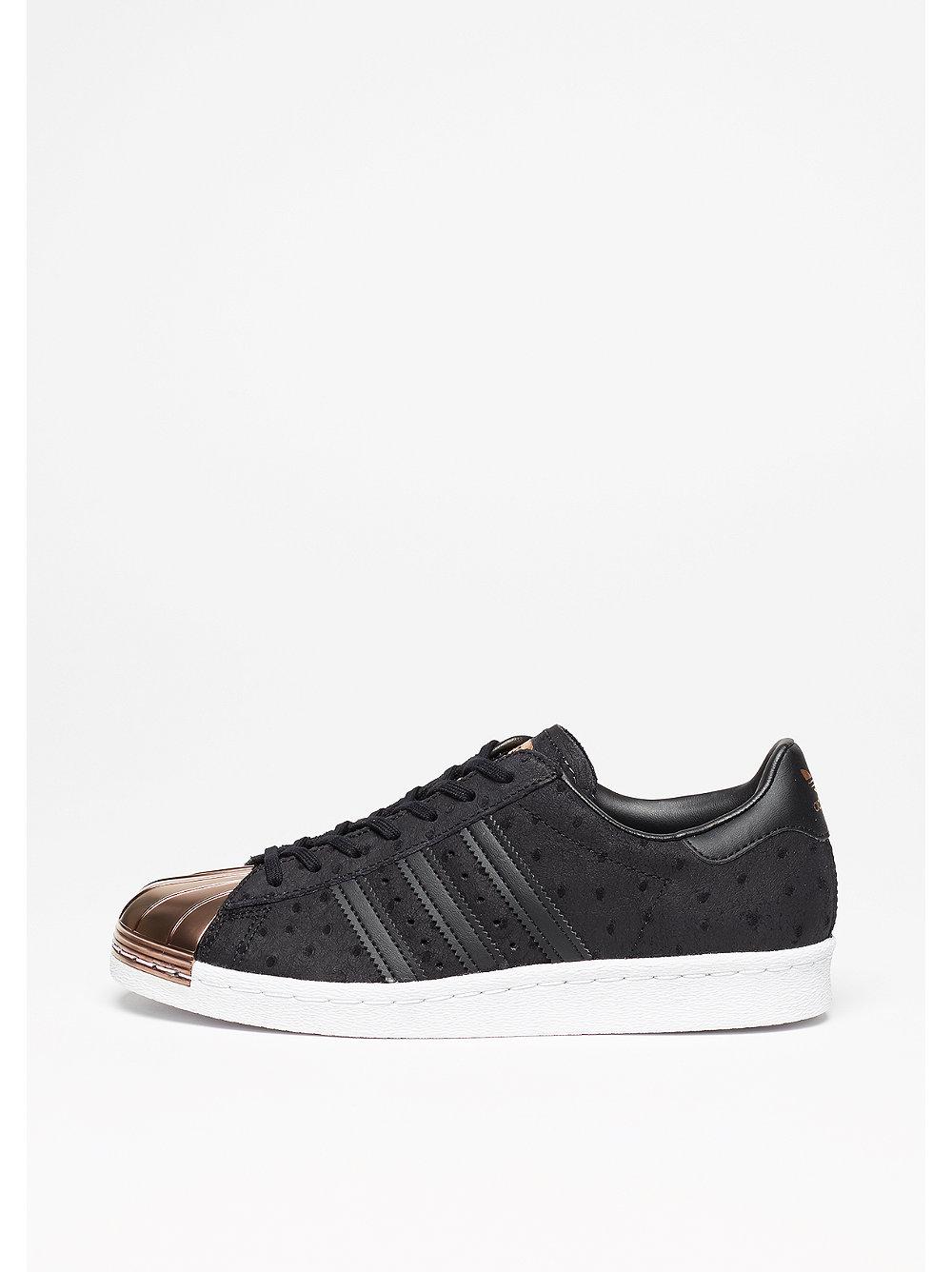 adidas Superstar 80s Metal Toe core black-core black-vapour grey