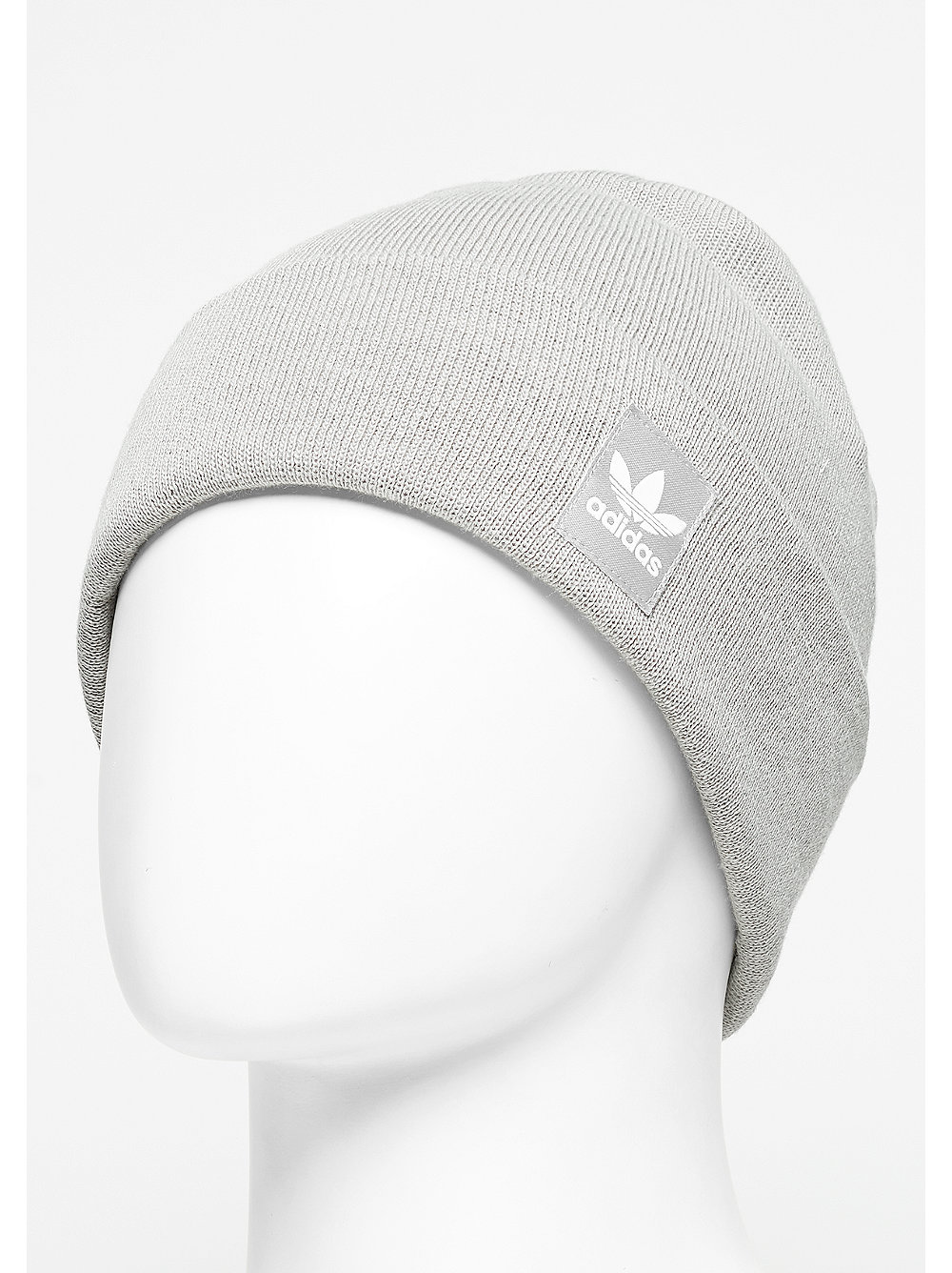 adidas Rib Logo Beanie mgh solid grey