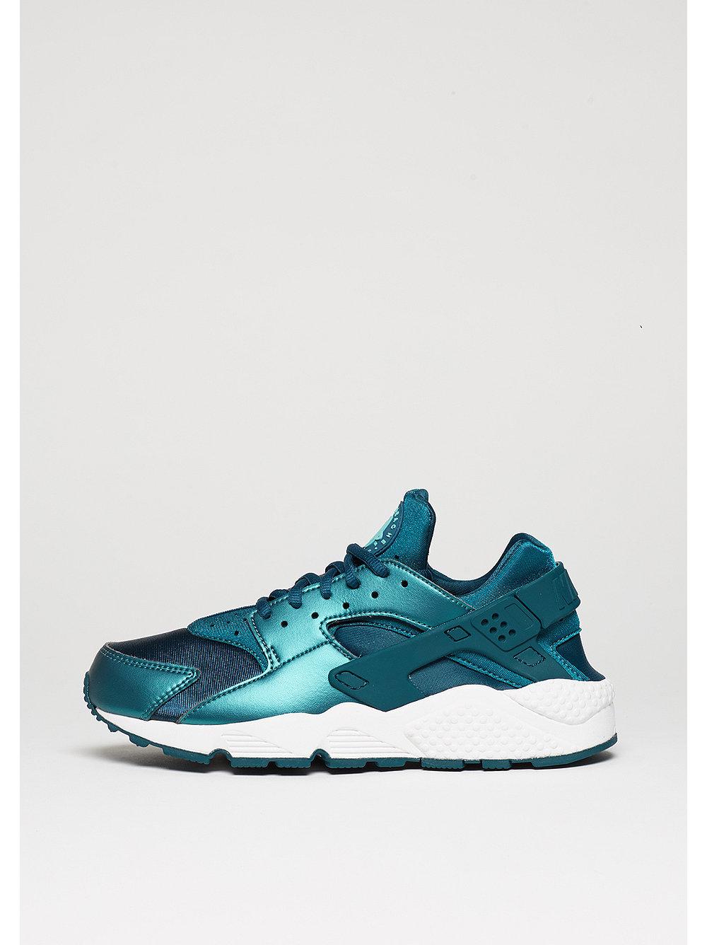 Nike Air Huarache Run damessneaker zilver, groen en blauw