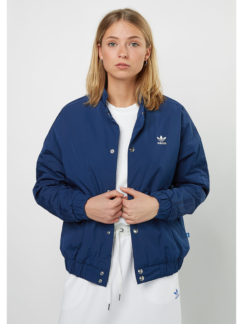 adidas Padded Tracktop mystery blue