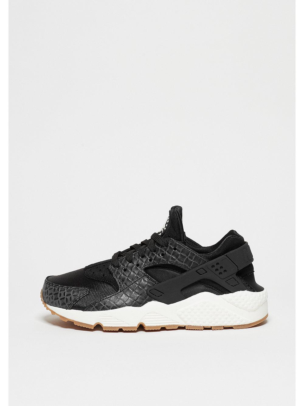 Nike Air Huarache Run damessneaker zwart