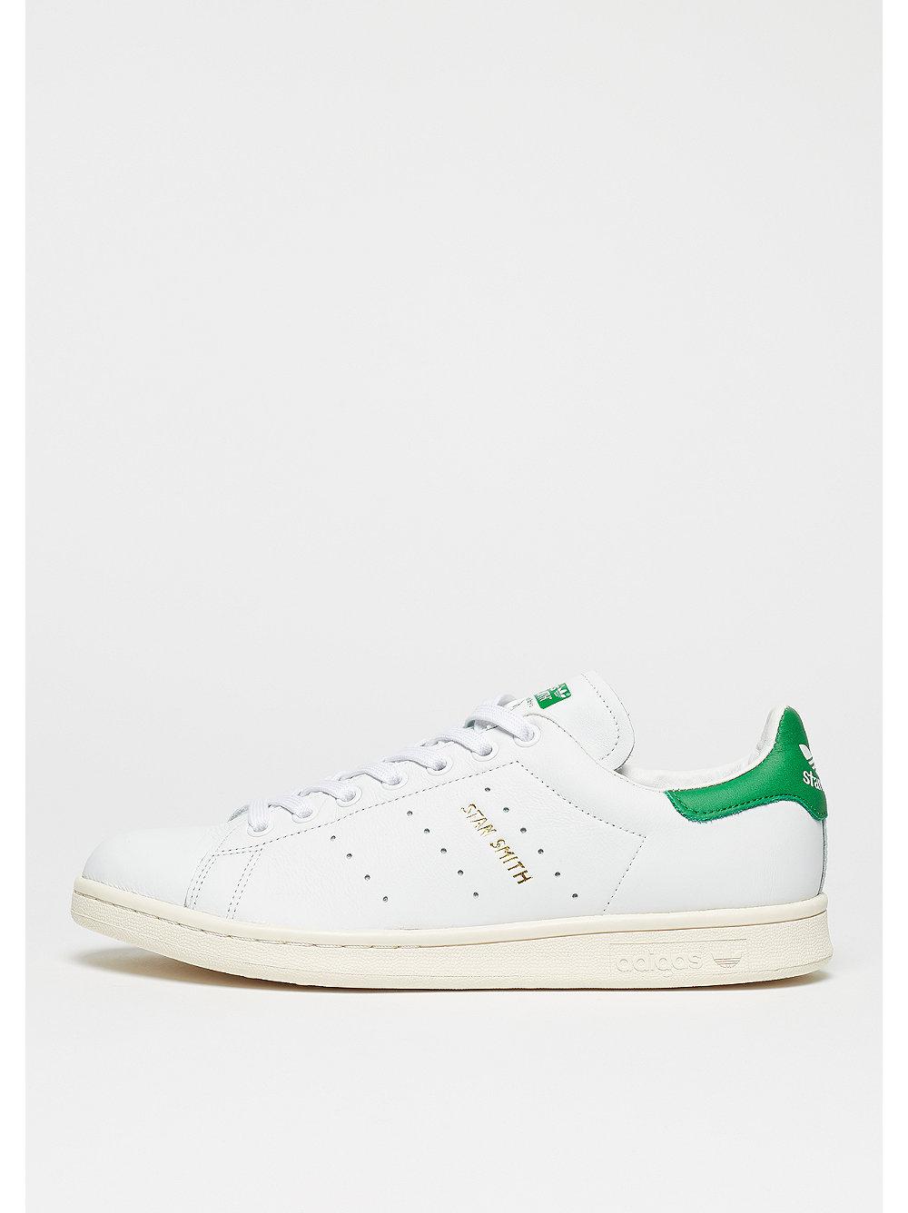 adidas Stan Smith white-white-green