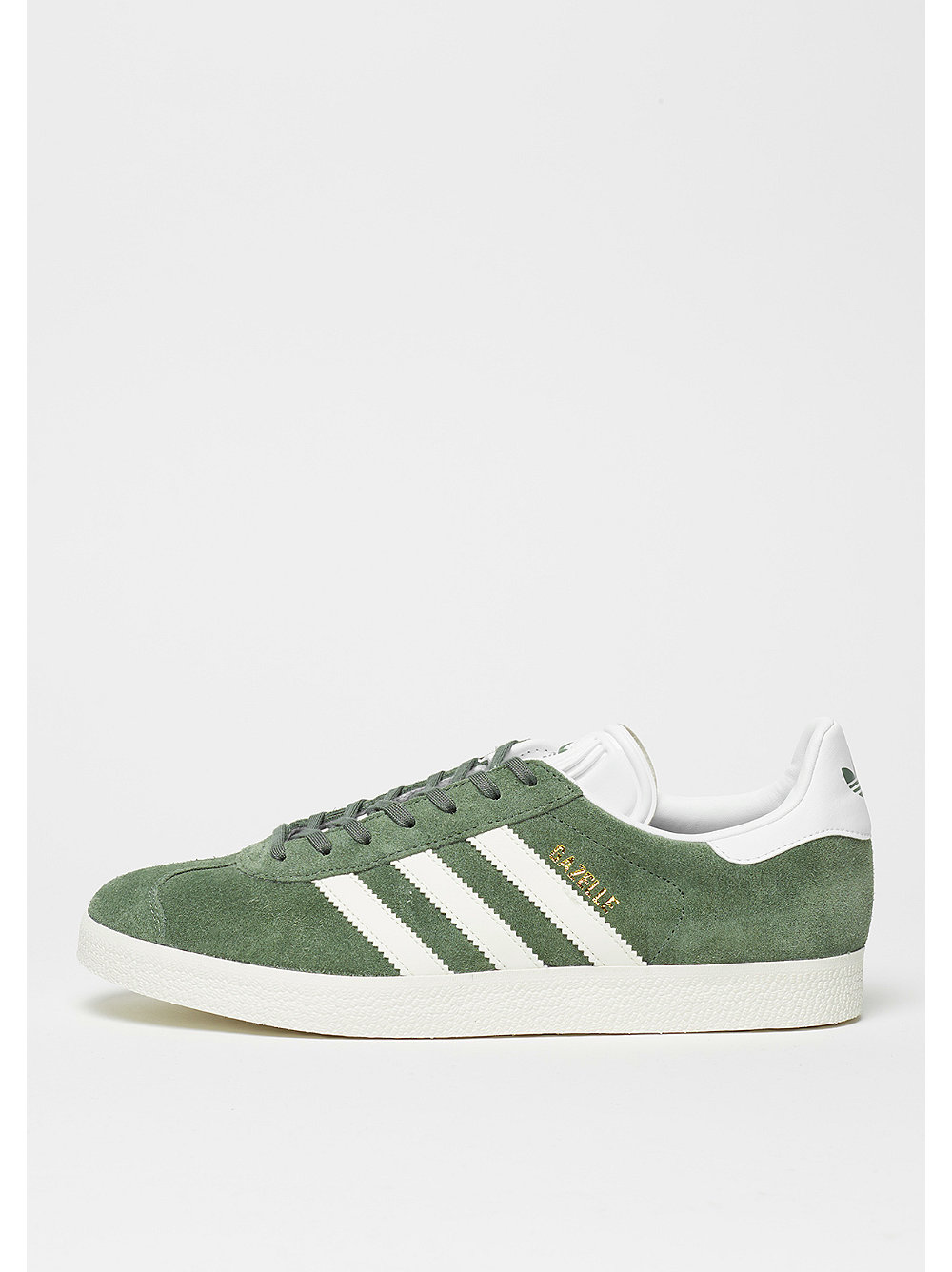 adidas Gazelle trace green-off white-white