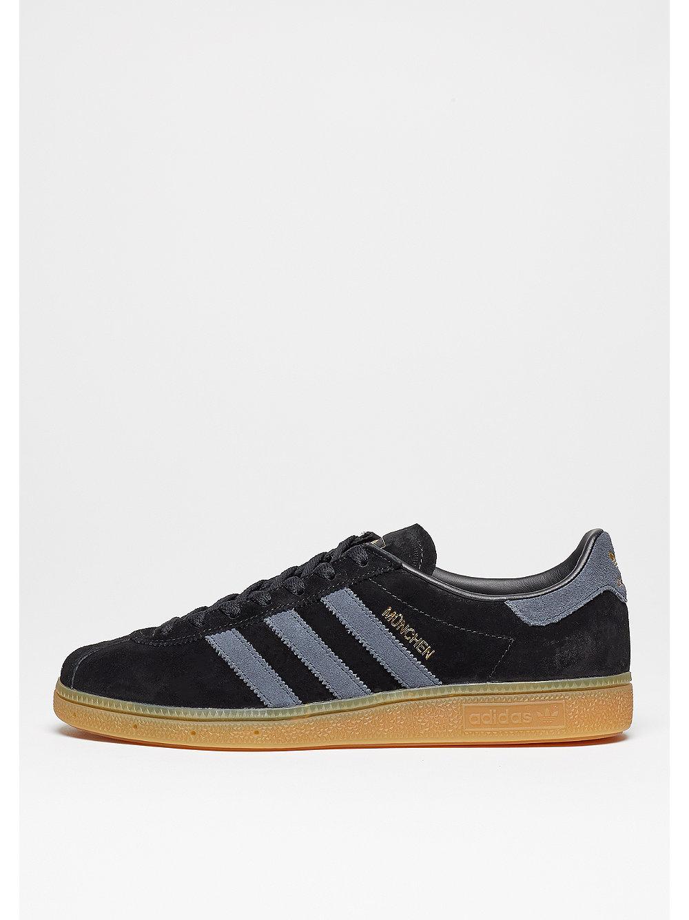 adidas Munchen core black-dark grey-gum