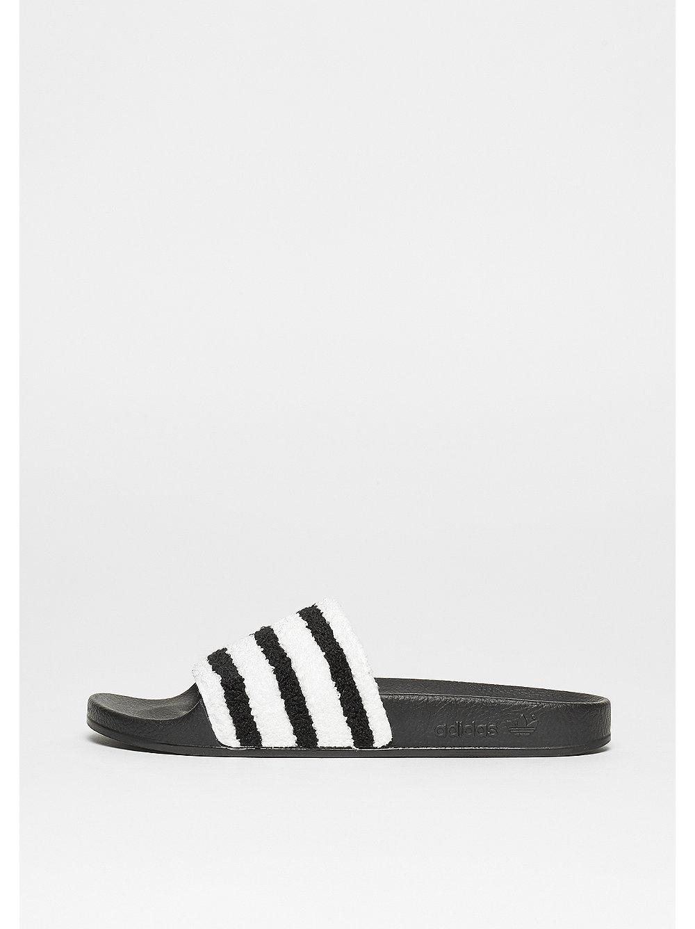 adidas Adilette core black-core black-white