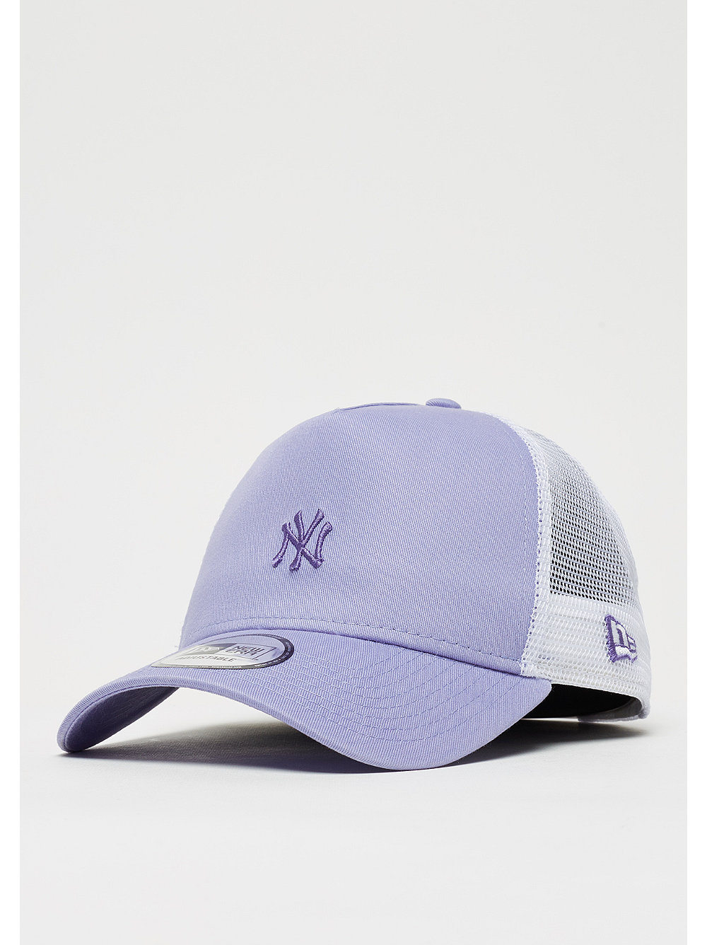 New Era Pastel Trucker MLB New York Yankees purple