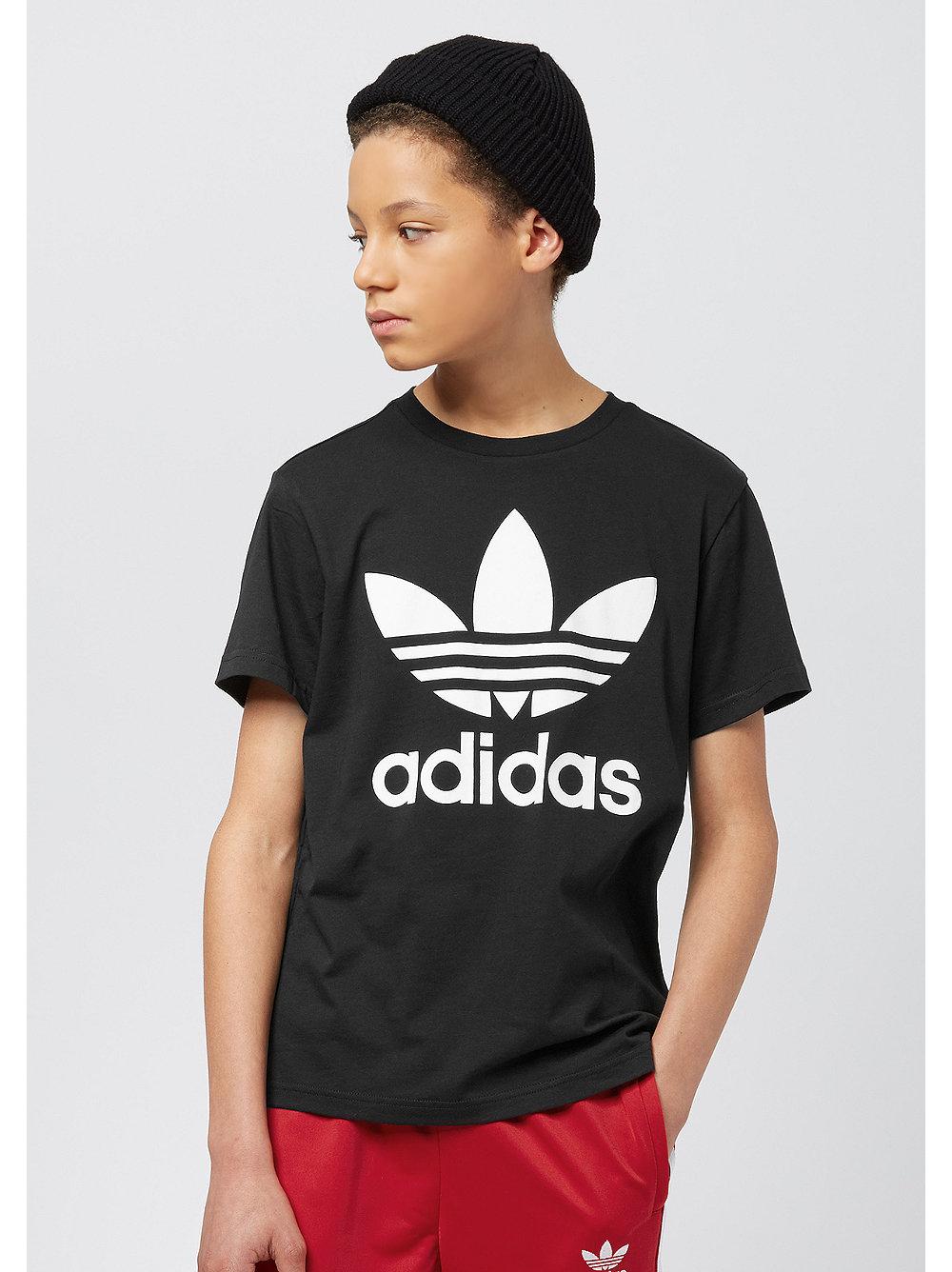 adidas Junior Trefoil black-white