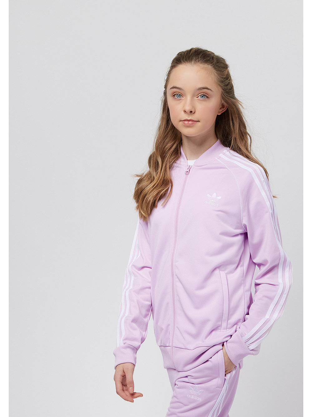 adidas Junior SST Top aero pink