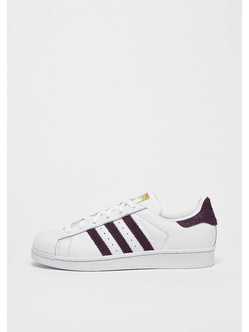 adidas Superstar white-red night-gold metallic