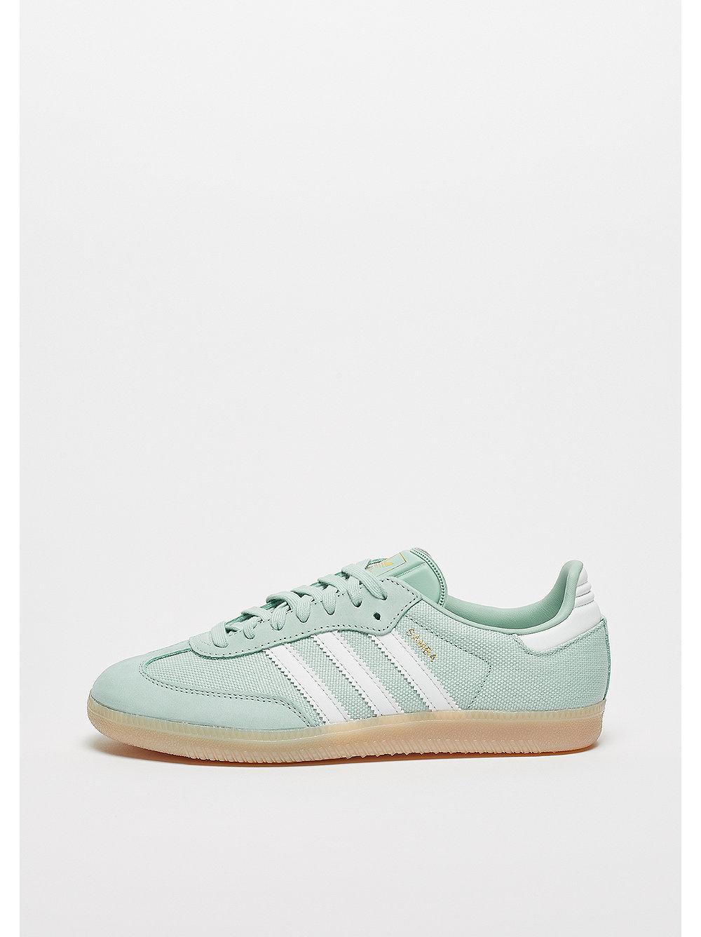 adidas Samba ash green-crystal white-linen