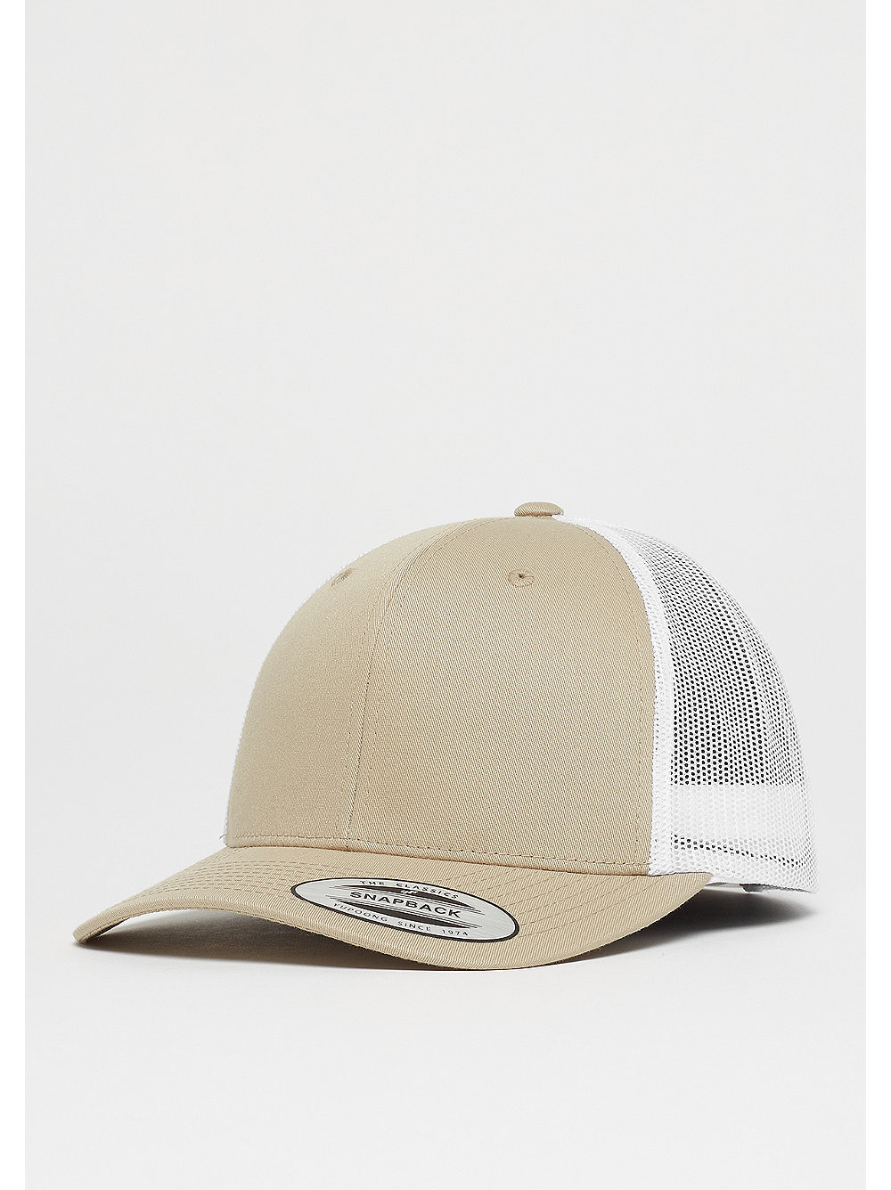 Retro Trucker 2-Tone khaki/white