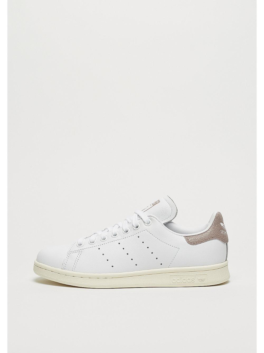adidas Stan Smith W Cracked Leather white-white-vapour grey