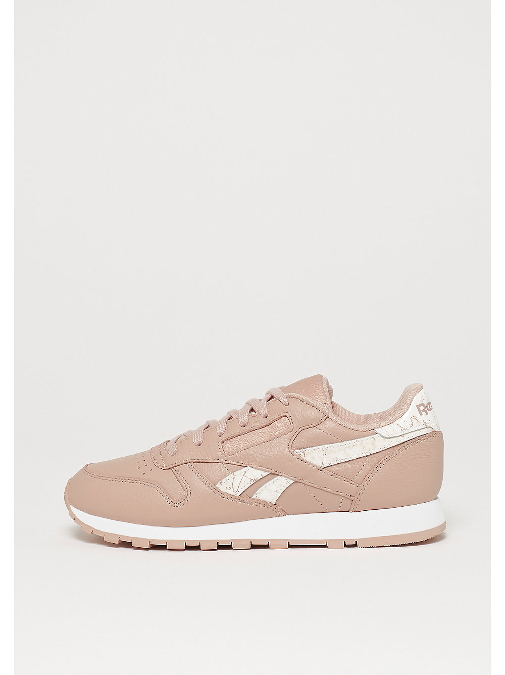 Reebok Classic Leather sidestripes-bare beige/w...