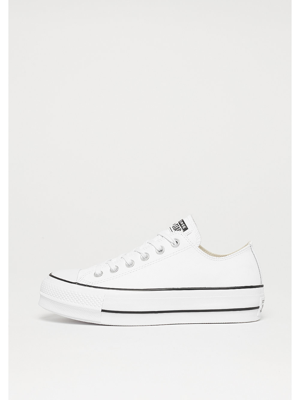 Converse Chuck Taylor All Star Lift Clean OX wh...