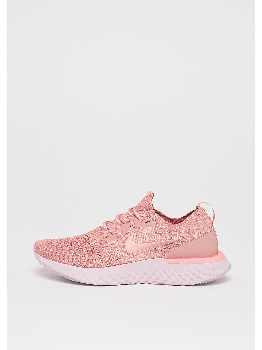 Wmns Epic React Flyknit rust pink/pink tint-tro...