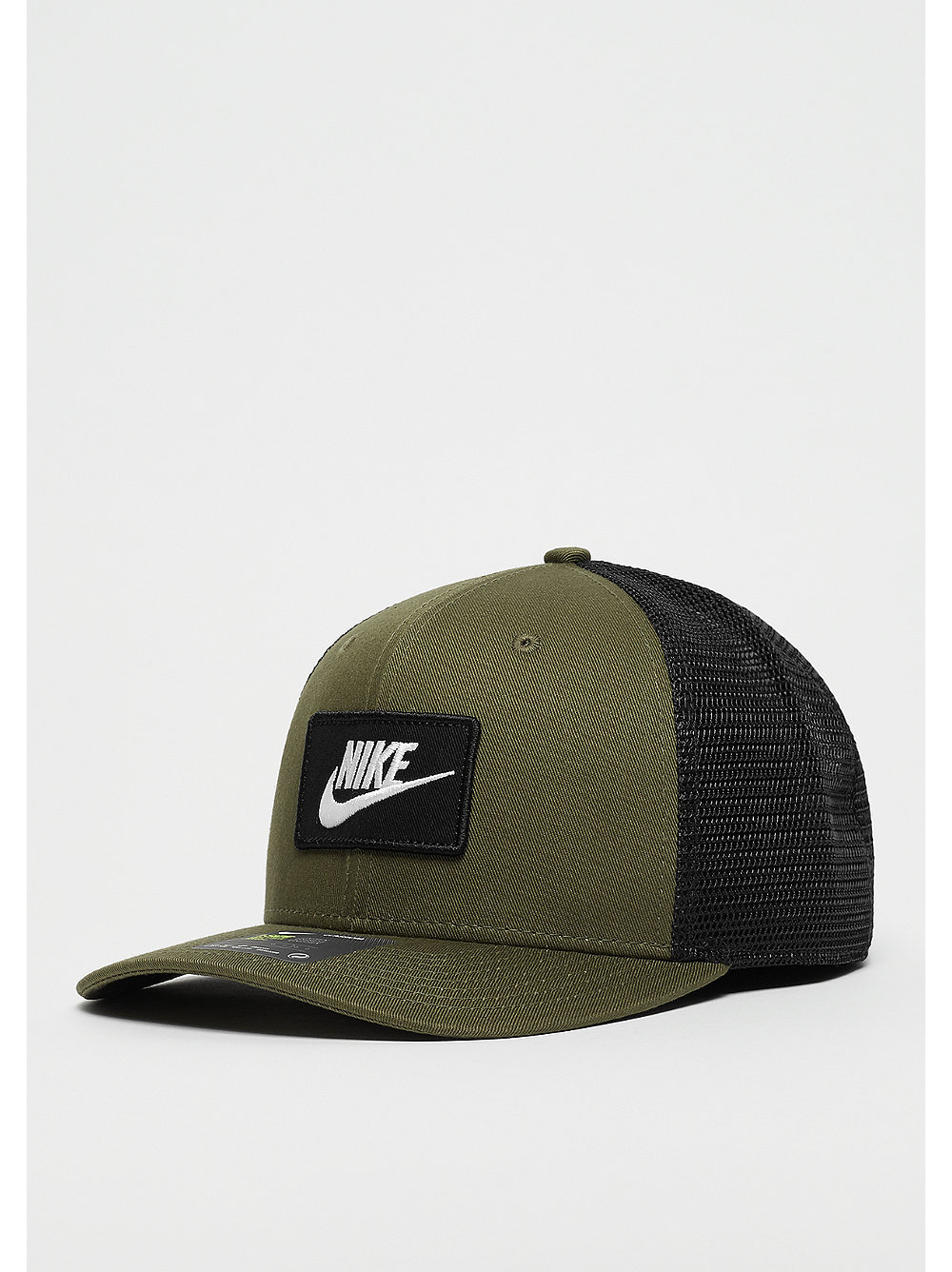 NIKE NSW CLC99 Cap Trucker olive canvas/black