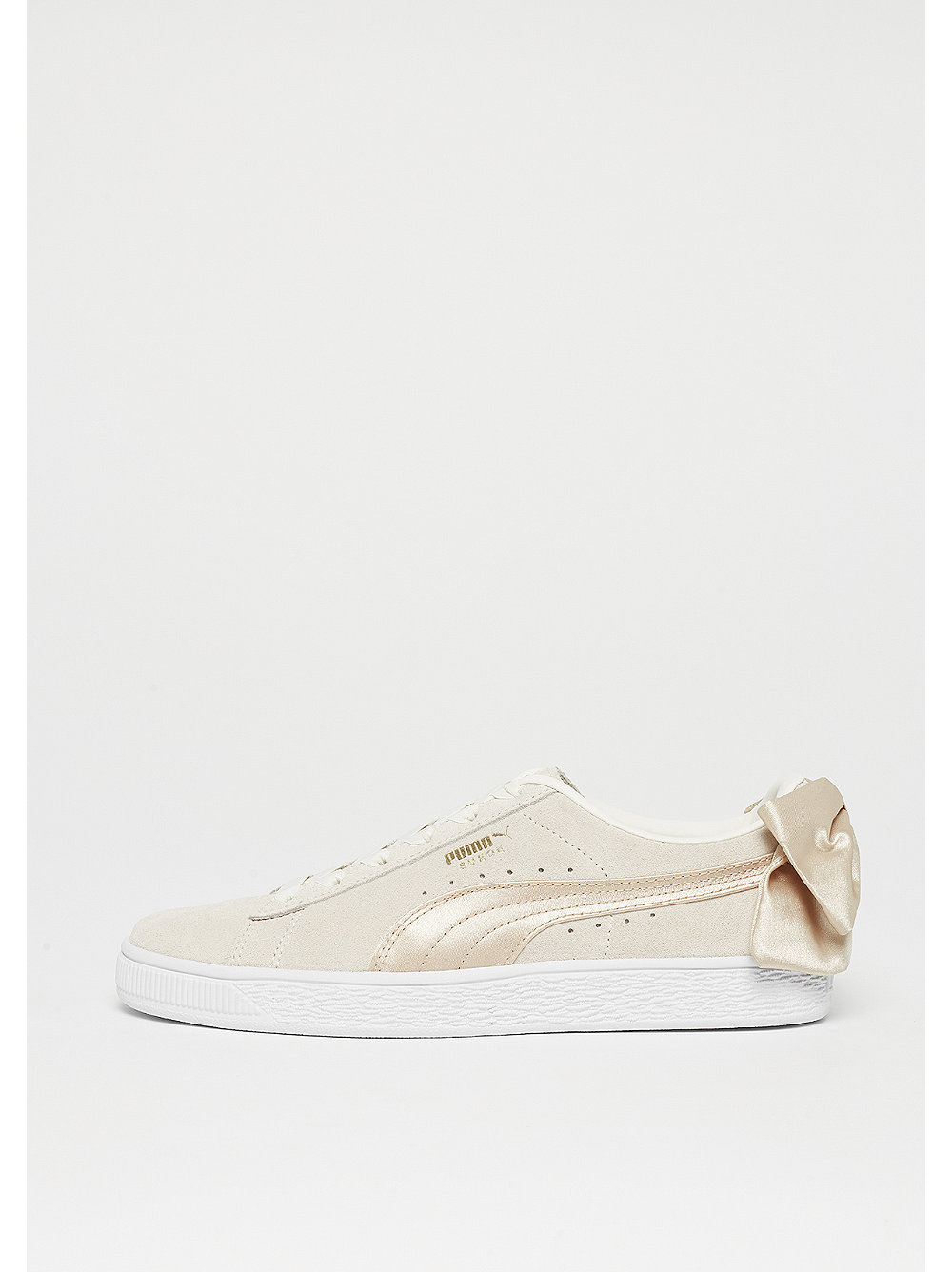 Suede Bow BSQT marshmallow-metallic gold