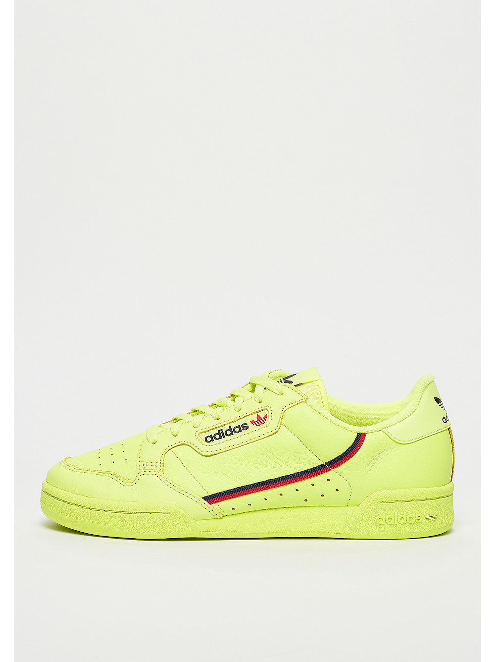adidas Continental 80 semi frozen yellow/scarle...
