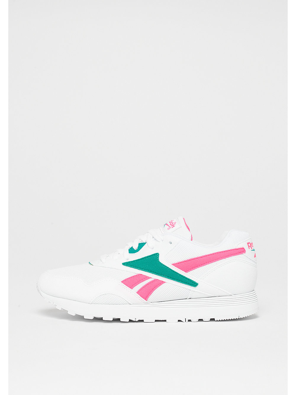 Rapide MU white/tottally teal/acid pink